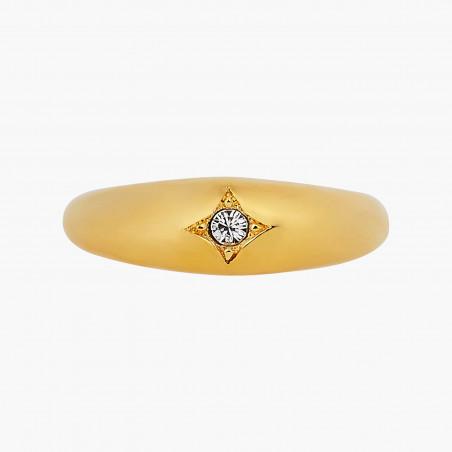 Bracelet pierre ronde quartz fumé