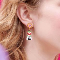 Boucles D'oreilles Originales Boucles d'oreilles clip alice et la reine rouge alice au pays des merveilles75,00€ AONA101C/1N...