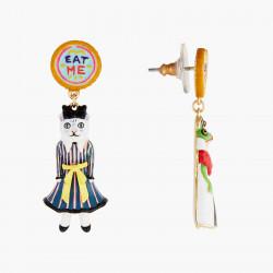 Boucles D'oreilles Originales Boucles d'oreilles tiges alice et la reine rouge alice au pays des merveilles75,00€ AONA101T/1...