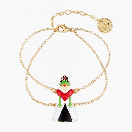 Bracelets Originaux Bracelet fin crapaud reine rouge alice au pays des merveilles55,00€ AONA202/1N2 by Les Néréides
