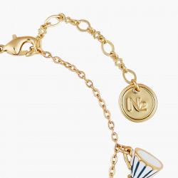 Bracelets Originaux Bracelet fin biscuits, théière et tasse alice au pays des merveilles65,00€ AONA203/1N2 by Les Néréides