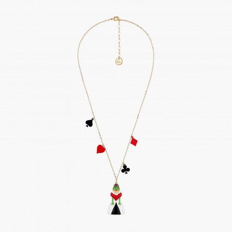 Smoky quartz stones luxurious long necklace