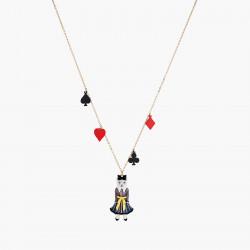 Colliers Originaux Collier pendentif pique, cœur, carreau, trèfle et chat alice au pays des merveilles90,00€ AONA303/1N2 by ...