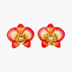 Boucles D'oreilles Clip Boucles D'oreilles Clip Orchidée Éléphant Et Cœur De Cristal160,00€ AOOC105C/1Les Néréides