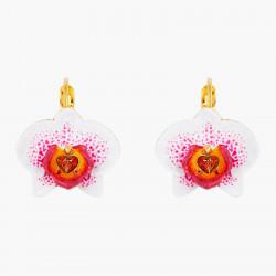 Boucles D'oreilles Dormeuses Boucles d'oreilles dormeuses orchidée éléphant140,00€ AOOC106D/1Les Néréides