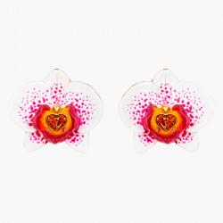 Boucles D'oreilles Tiges Boucles d'oreilles tiges orchidées140,00€ AOOC106T/1Les Néréides