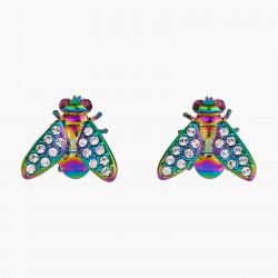 Euglossine Bee post earrings