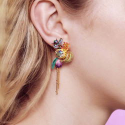 Boucles D'oreilles Tiges Boucles d'oreilles tiges abeille euglossine90,00€ AOOC113T/1Les Néréides