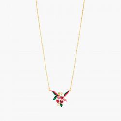 Collar Pendiente Orquídea...
