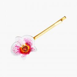 Pinza de pelo orquídea