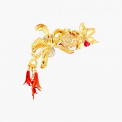Broches Broche fleurs de orchidées exotiques et pierre150,00€ AOOC501/1Les Néréides