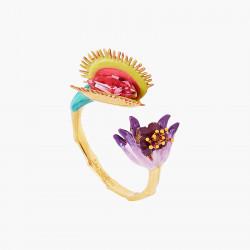 Anillo ajustable flor...