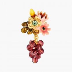 Boucles D'oreilles Clip Boucles d'oreilles pendantes clips fleurs romantiques et grappe de raisin cardinal140,00€ AOPJ106C/1...