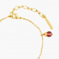 Bracelets Charms Bracelet fin fleurs romantiques et pampilles en perle de verre80,00€ AOPJ202/1Les Néréides