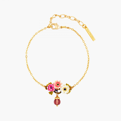 Bracelets Fins Bracelet fin fleurs de pavot et petit gland110,00€ AOPJ204/1Les Néréides