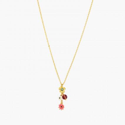 Colliers Pendentifs Collier pendentif fleurs de pavot et petit gland80,00€ AOPJ304/1Les Néréides