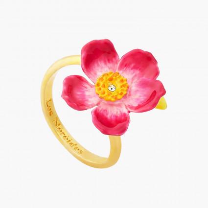 Bagues Ajustables Bague Ajustable Fleur De Coquelicot Rose80,00€ AOPJ603/1Les Néréides