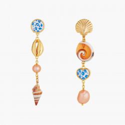 Boucles D'oreilles Pendantes Boucles D'oreilles Pendante Tige Perles, Nacres Et Coquillages140,00€ AOGL109T/1Les Néréides