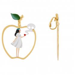 Boucles D'oreilles Originales Boucles d'oreilles clip asymétriques blanche neige et la méchante sorcière60,00€ AHBN109C/1N2 ...