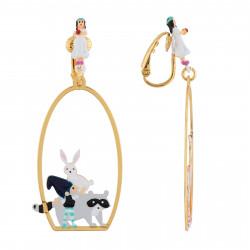 Boucles D'oreilles Originales Boucles d'oreilles clip atelier ménage pour les animaux et les nains65,00€ AHBN113C/1N2 by Les...