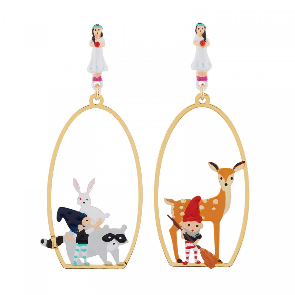Boucles D'oreilles Originales Boucles d'oreilles atelier ménage pour les animaux et les nains65,00€ AHBN113T/1N2 by Les Néré...