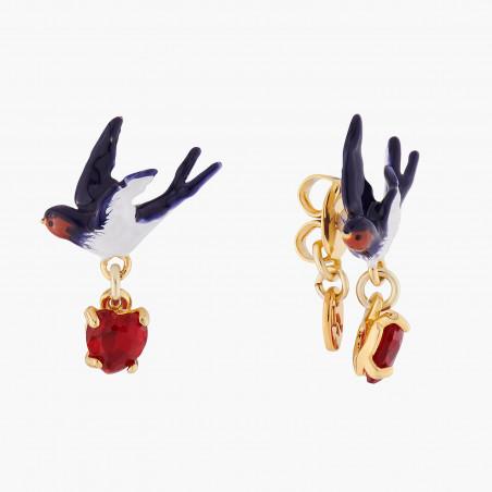 Sleeper earrings Les Néréides Loves Animals
