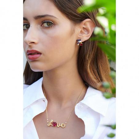 Clip earrings Les Néréides Loves Animals
