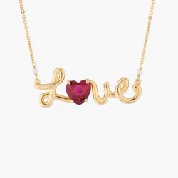 Collar Colgante Love Les...