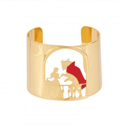 Bracelets Bracelet Manchette Le Temps D'une Valse Entre La Belle Et La Bête