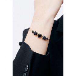 Bracelets Fins Bracelet fin 5 pierres la diamantine bleu nuit pailleté80,00€ AMLD214/1Les Néréides