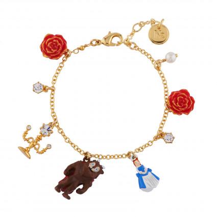 Bracelets Bracelet Multi Pampilles La Belle Et La Bête