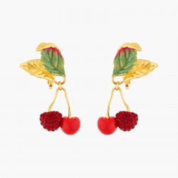Rhinestones Covered Cherry...