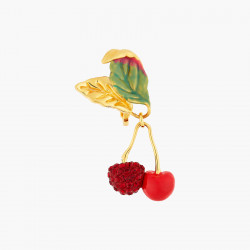 Boucles D'oreilles Clip Boucles d'oreilles clips cerises en strass140,00€ ANCE101C/1Les Néréides