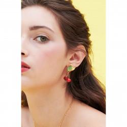 Boucles D'oreilles Pendantes Boucles d'oreilles tiges cerises en strass140,00€ ANCE101T/1Les Néréides