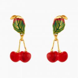Small Cherries Post Earrings