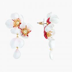 Boucles D'oreilles Pendantes Boucle D'oreille Pendantes Tiges Fleurs Blanches De Cerisier220,00€ ANHA109T/1Les Néréides