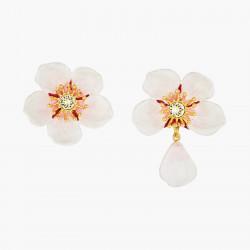 Boucles D'oreilles Pendantes Boucle D'oreille Tiges Fleur Blanche De Cerisier130,00€ ANHA110T/1Les Néréides