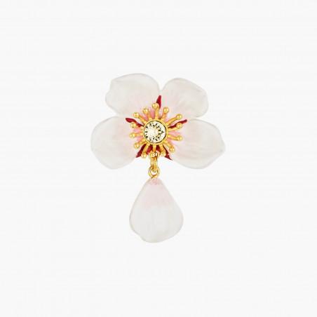 Golden alveoluses, rhinestones and charm earrings