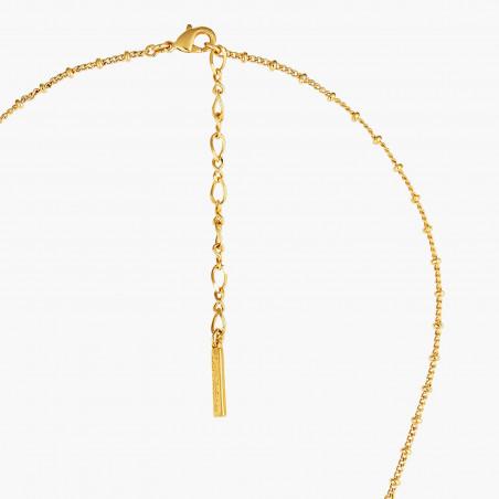 Bracelet jonc alvéolé, strass et petites perles