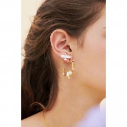 Boucles D'oreilles Tiges Boucles d'oreilles tiges colombe et pivoine70,00€ ANLA105T/1Les Néréides
