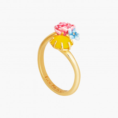 Opal white round stone bracelet