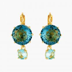 Boucles D'oreilles Dormeuses Boucles d'oreilles dormeuses pierres rondes la diamantine acqua azzura60,00€ ANLD126D/1Les Néré...