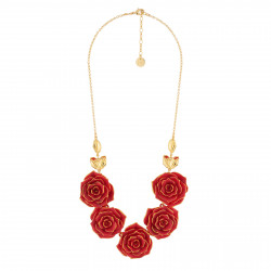 Collar Pechera Multi-rosas...