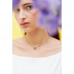 Colliers Pendentifs Collier pendentif pierre cœur la diamantine acqua azzura50,00€ ANLD353/1Les Néréides