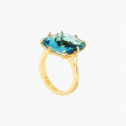 Bague Solitaire Bague solitaire pierre carrée la diamantine acqua azzura60,00€ ANLD602/1Les Néréides