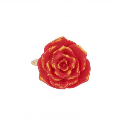 Bagues Bague Ajustable Rose Rouge39,00€ AIBE602/1N2 by Les Néréides