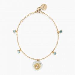 Camellia thin bracelet