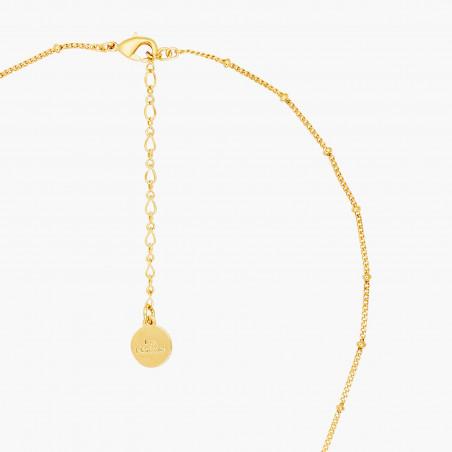 Bracelet canari corail et petites pampilles