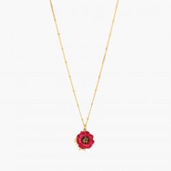 Anemone pendant necklace