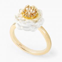 Camellia Adjustable Ring